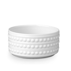 "L'objet Perlee White 3"" Vertical Bowl"