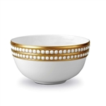 L'objet Perlee Gold Cereal Bowl