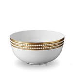 L'Objet Perlee Gold Serving Bowl
