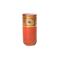 Vietri Regalia Orange High Ball Glass - RGI-7613O