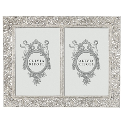 Olivia Riegel Windsor 4x6 Double Frame - Chelsea Gifts