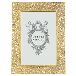 Olivia Riegel Gold Windsor 4 x 6 Frame - Chelsea Gifts