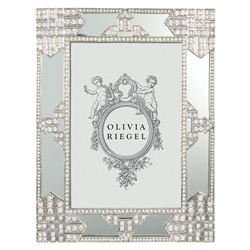 "Olivia Riegel Deco Mirror 4"" x 6"" Frame with Black Velvet Back"