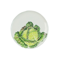 Vietri Spring Vegetables Cabbage Salad Plate - SGV-9701CB