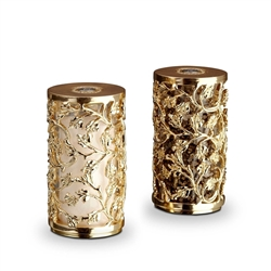 L'OBJET Lorel Salt & Pepper Shakers Gold Plated