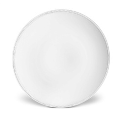 L'Objet Soie Tressee White Charger