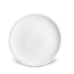 L'Objet Soie Tressee White Bread and Butter Plate