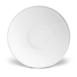 L'Objet Soie Tressee White Coupe Bowl - Large