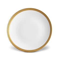 L'Objet Soie Tressee Gold Bread and Butter Plate