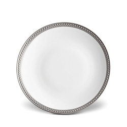 L'Objet Soie Tressee Platinum Bread and Butter Plate