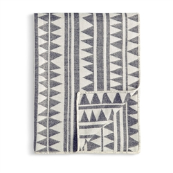 L'Objet Triangles Jacquard Throw