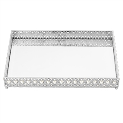 Olivia Riegel Large Pegeen Beveled Mirror Tray