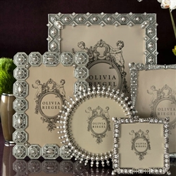 Olivia Riegel Photo Frames Featuring Swarovski Crystals