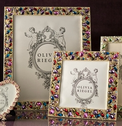 Colored Crystal Photo Frames