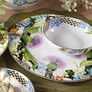 Thistle u0026 Bee Dinnerware & MacKenzie-Childs Hand-Painted Tableware u0026 Serveware Collections