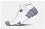 UA Elevated Performance No Show Socks Three Pack