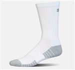 UA Heat Gear Tech Crew Socks Three Pack