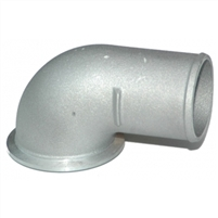 S400 90* V Band Elbow With Clamp and Oring