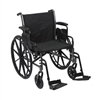 "Wheelchair - Dual Axle, 20"" Seat, 300lb Capacity"