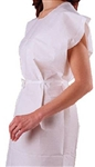 "PolyTissue Waist Tie Exam Gown 30 x 42"" (50/CS)"