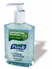 Hand Sanitizer with Aloe Vera Purell® 8 oz. Alcohol Pump Bottle