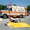 "Mckesson Rescue Blanket - 56"" x 90"""