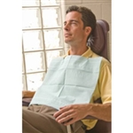 "Aqua-Guard® Dental Bib - 16.5X19"" 2ply (125/bg)"
