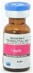 Terbutaline Sulfate Single Dose Injection Vial - 1mg/mL (1mL)