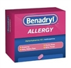 Benadryl Allergy Relief 0 25mg - 24tab/box