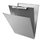 Aluminum A Holder Clipboard - 8.5x14""