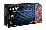 Bold Nitrile PF Black Exam Gloves - Box