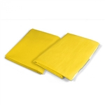 Yellow Emergency Highway Blanket - 54 x 80""