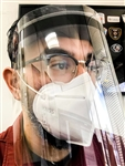 "Clear Face Shield - 10"" x 12"" Clear"