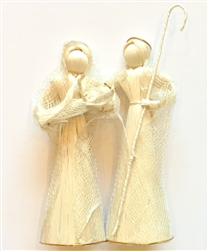 Abaca Fiber Nativity from the Philippines