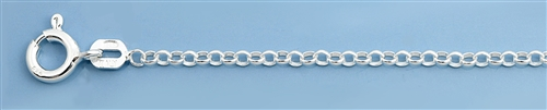 Sterling Silver Anklet - 10 in