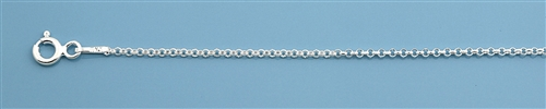 Sterling Silver Anklet - 9 inch