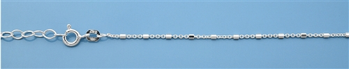 Sterling Silver Anklet - 10 inches