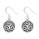 Silver Earrings - Celtic