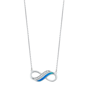 Silver Necklace - Infinity