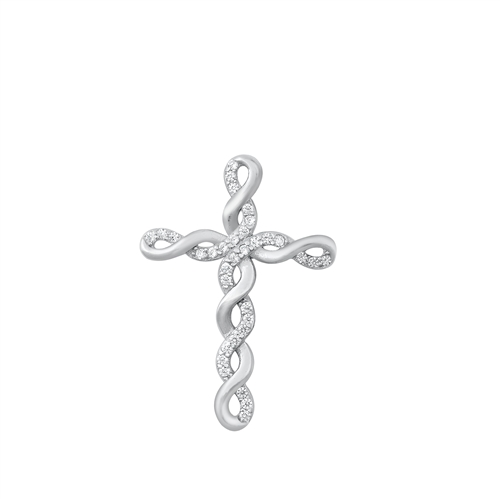 Silver Pendant - Cross