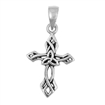 Silver Pendant - Celtic Cross