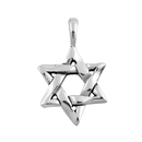 Silver Pendant - Star of David
