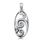 Silver Pendant - Waves