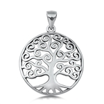 Silver Pendant - Tree of Life