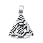 Silver Pendant - Trinity Knot