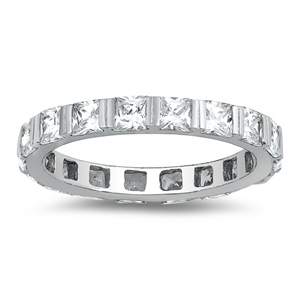 Silver CZ Ring   -  $7.77