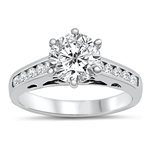 Silver CZ Ring - $8.34