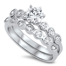 Silver CZ Ring  -  $10.77