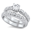Silver CZ Ring   -  $17.74