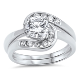 Silver CZ Ring   -  $13.79